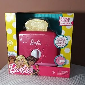 NEW Barbie kitchen playset Toaster